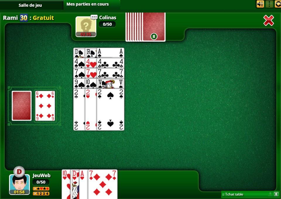 jeu de rami en ligne gratuit sans inscription